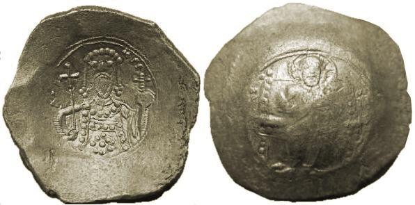Trachy de vellón de Alejo I. Sb1918.2