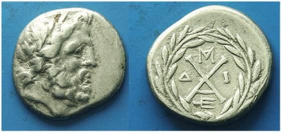 peloponnesos  achaean league - ancient greek coins