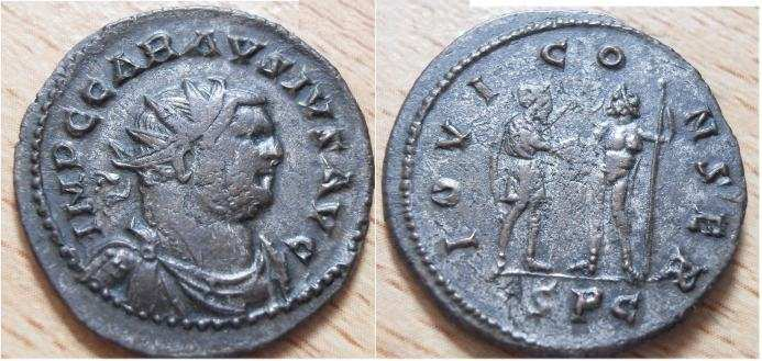 Carausius, Roman Imperial Coins of, at WildWinds com