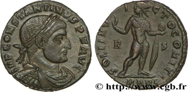 AE3 de Constantino I _arles_RIC_VII_138var