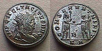 Aureliano de Tácito RIC 193 RIC_0193,B