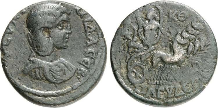 Julia Soaemias VENVS CAELESTIS from Rome   Roman Imperial